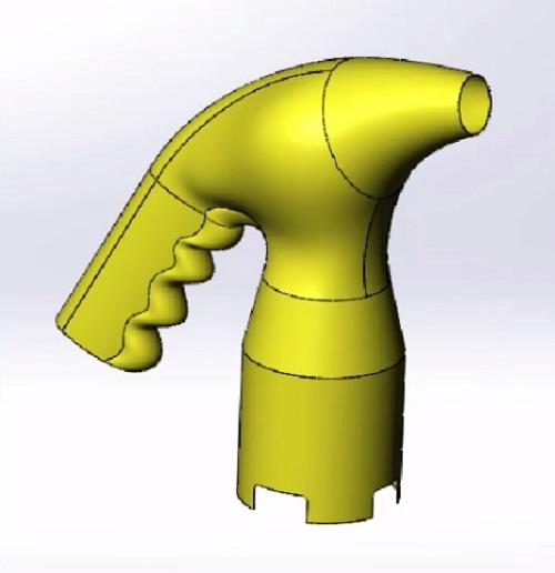 مدلسازی در محیط سطح سازی سالیدورک