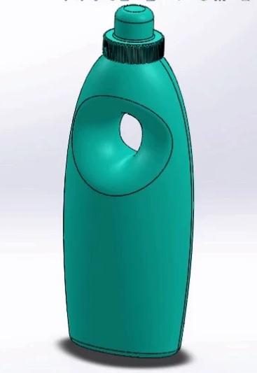 طراحی بطری در سالیدورک