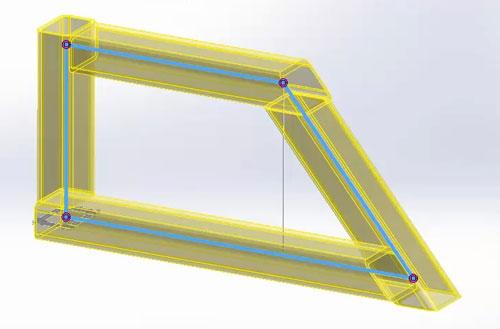 طراحی سازه در محیط weldment